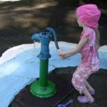 Pump at a water park